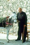 Cypriot Man With Donkey